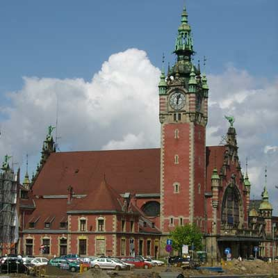 Gdansk Glowny train station