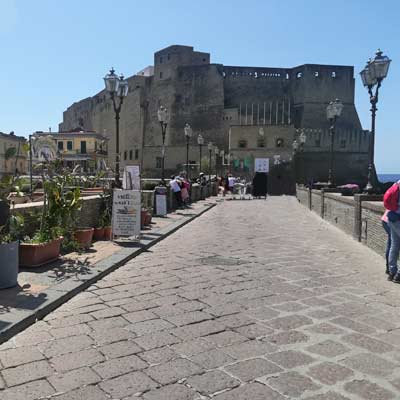 Castel dell'Ovo Egg castle Naples