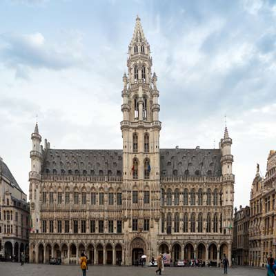 town hall Brussels Grand Place