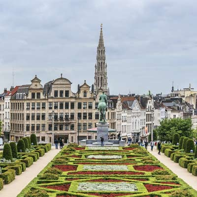 The Mont des Arts  Brussels