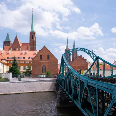 Most Tumski Bridge Wroclaw